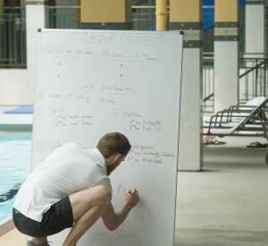 Explication des ateliers à faire pendant le cours d'Aqua-Crossfit.