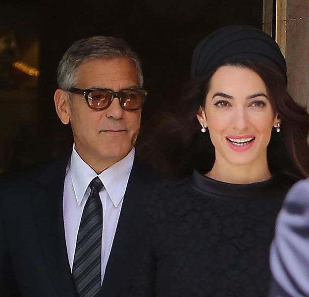Amal et George Clooney, un couple qu'on imagine déjà à la Maison Blanche !