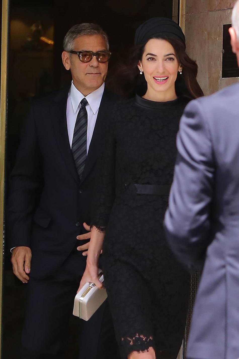 Amal et George Clooney, un couple qu'on imagine déjà à la Maison Blanche !