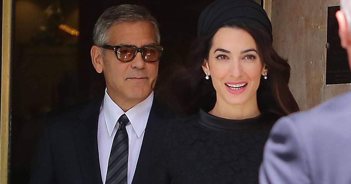 George et Amal Clooney à la pointe du style   couple