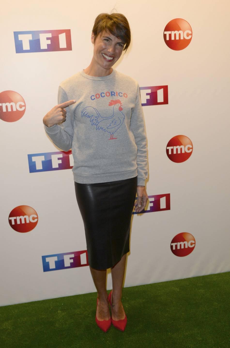 Karine Ferri a reçu des conseils d'Alessandra Sublet, maman elle aussi.