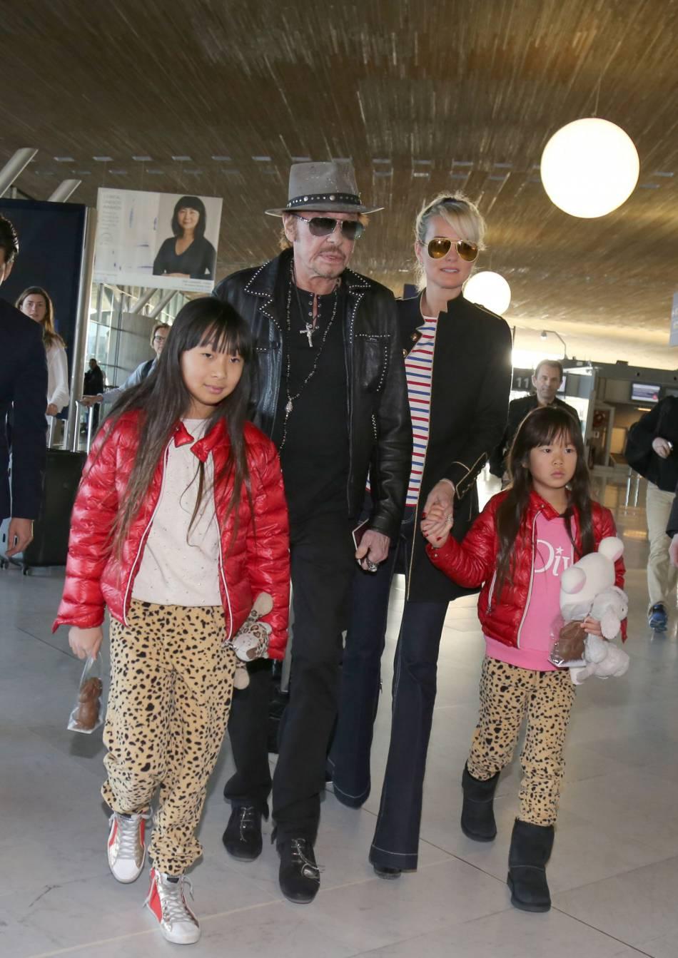 La femme de Johnny Hallyday s'est confié sur les moments marquants de sa famille.