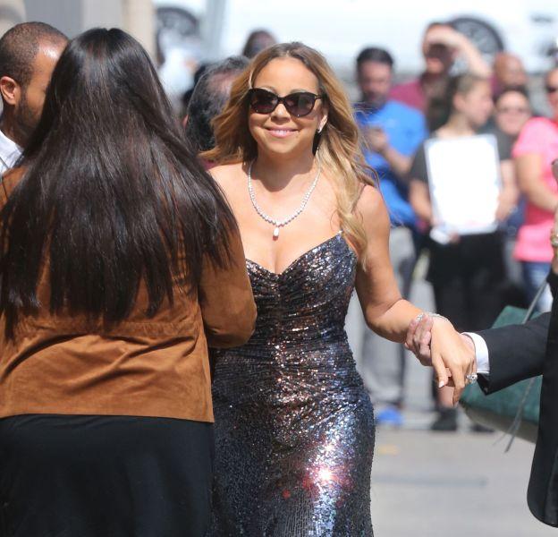 Mariah Carey, une future mariée radieuse.