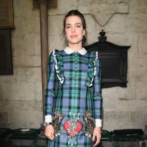 Charlotte Casiraghi au défilé Gucci Croisière 2017 à Westminster à Londres le 2 juin 2016.