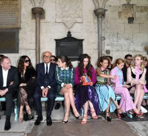 Charlotte Casiraghi, Salma Hayek : les stars au défilé Gucci Croisière 2017