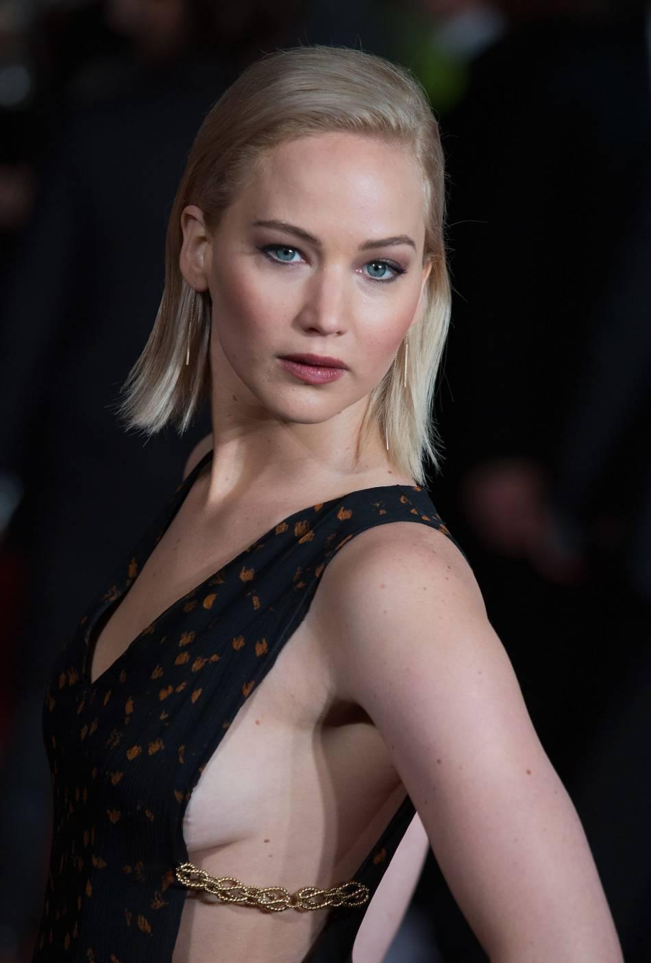 Jennifer Lawrence faisait partie des invités du mariage de sa meilleure amie Laura Simpson.