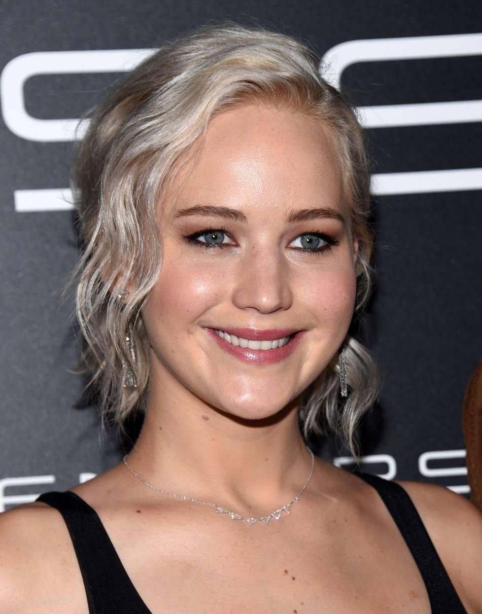 Jennifer Lawrence, on peut compter sur elle pour mettre de l'ambiance.