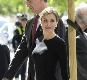 Letizia d'Espagne, preppy et moulée pour dévoiler sa divine silhouette à Madrid