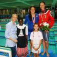 Charlène de Monaco, dans son élément, pour un dimanche sportif à la piscine !