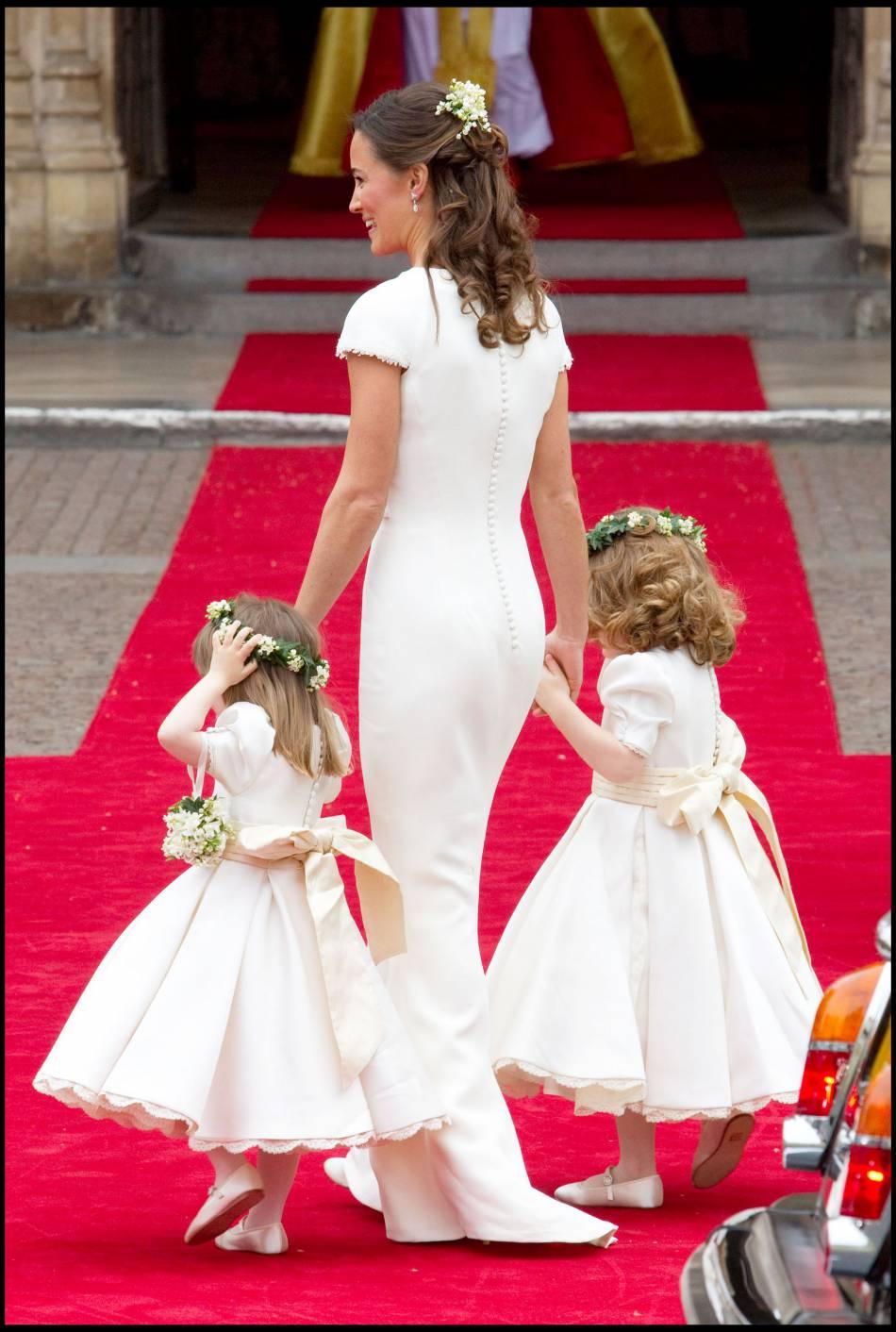 Pippa était sublime dans sa robe de demoiselle d\u0027honneur lors du mariage  princier de Kate et William.