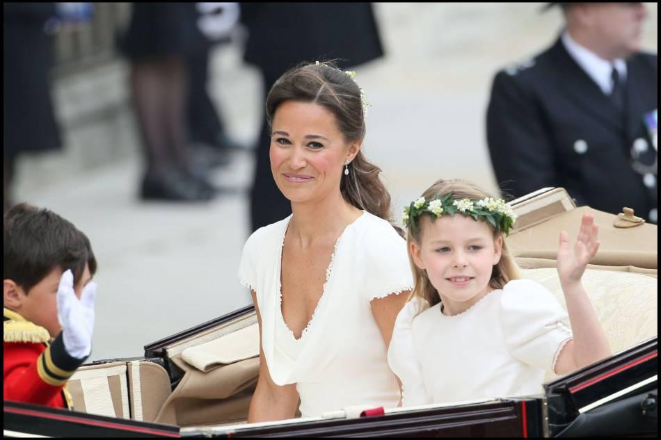 La petite soeur de Kate Middleton est devenue une vraie starlette le jour du mariage princier.
