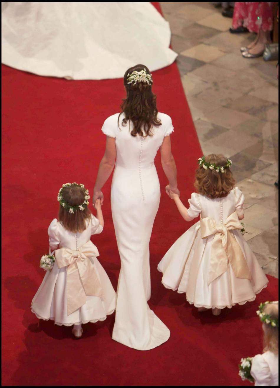 Les fesses de Pippa ont été l'objet de toutes les conversations le jour du mariage de Kate et William.