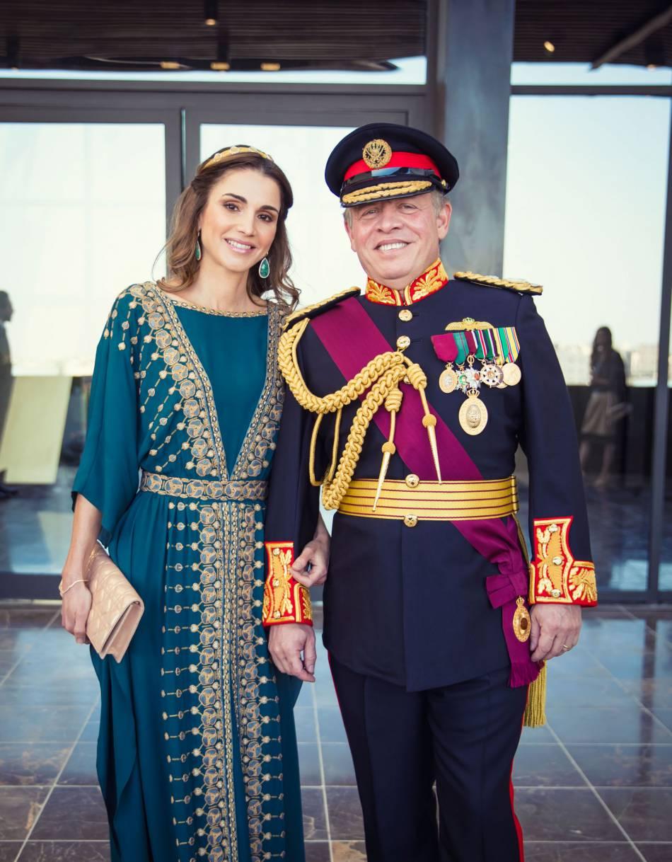 Le couple royale de Jordanie, la reine Rania et le roi Abdullah II.