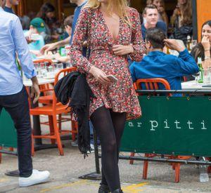 Candice Swanepoel dans les rues de New York le 5 juin 2016.