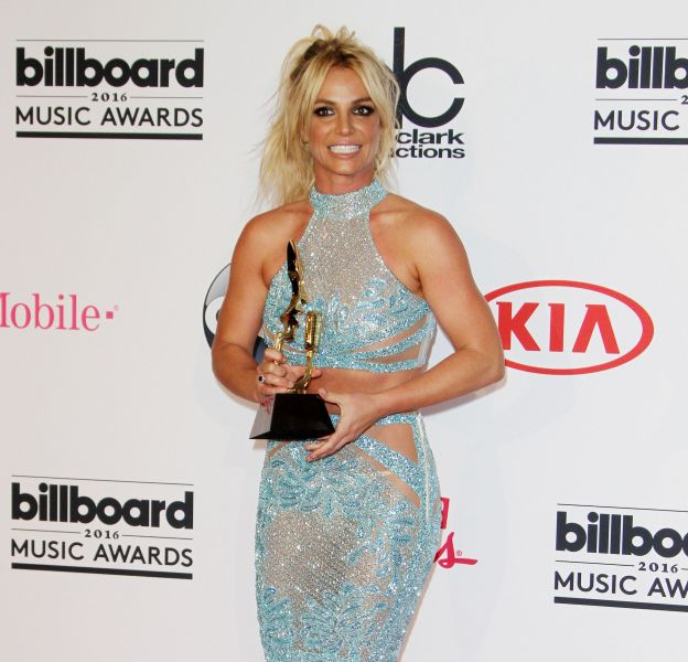 Britney Spears lors de la cérémonie des Billboard Music Awards de 2016.