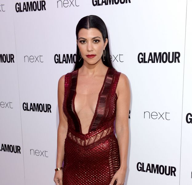 Kourtney Kardashian lors des Glamour Women of the Year Awards 2016.