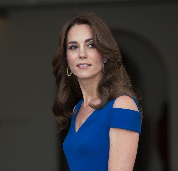 Kate Middleton, sculpturale en robe longue.
