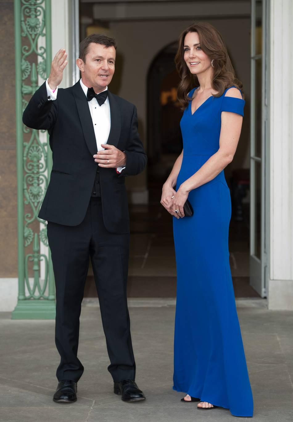 La femme du prince William a assisté à un dîner de charité à Londres.
