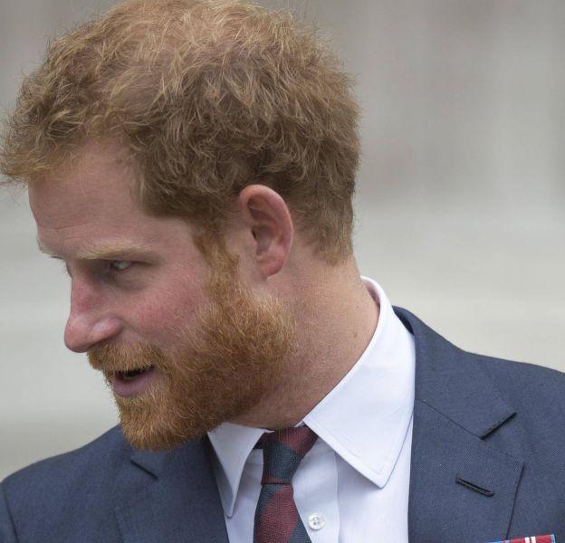 En 2015, le prince Harry a commencé à se dégarnir sérieusemement