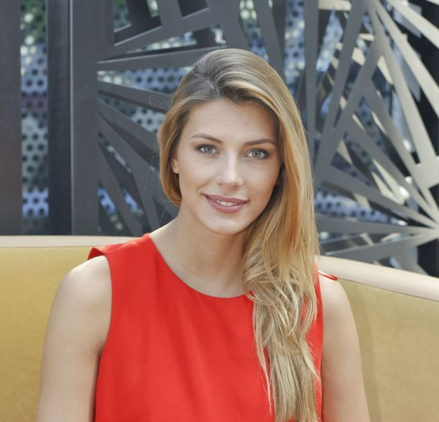L'ex Miss France 2015, Camille Cerf