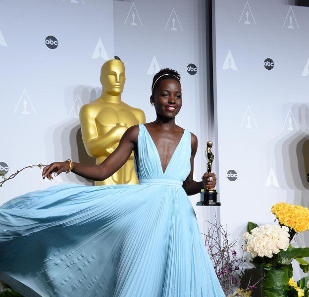 """Lupita Nyong'o, une it girl qui fascine depuis 2014, année où elle reçoit l'Oscar de meilleure actrice pour son rôle dans """"Twelve Years a slave""""."""