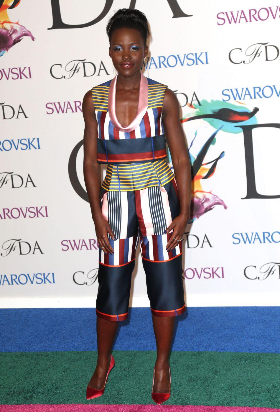 Lupita Nyong'o aux  CFDA Fashion Awards 2014 à New York.
