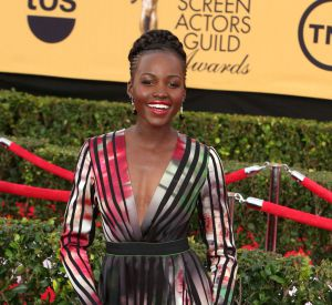 Lupita Nyong'o lors des Screen Actors Guild Awards à Los Angeles en janvier 2015.