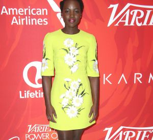"Lupita Nyong'o lors de l'évènement ""The Variety's New York Power of Women"", à New York, en avril 2016."