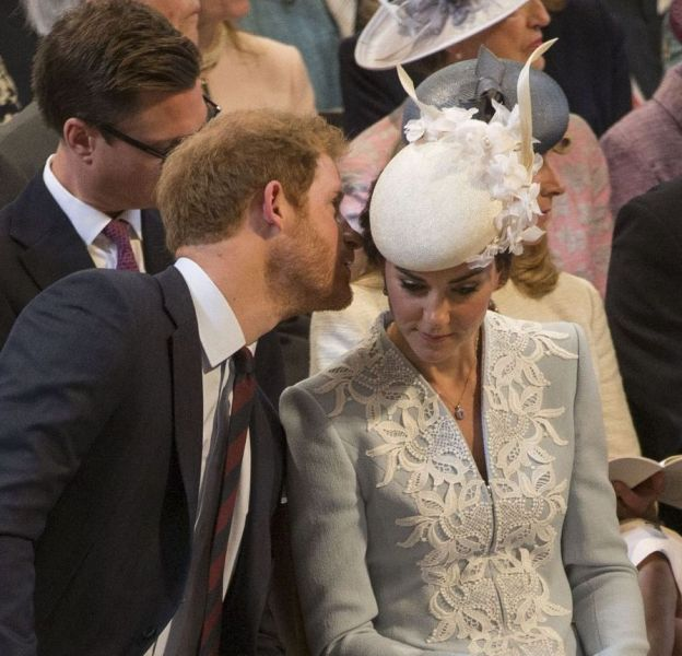 Kate et Harry, plus proches que jamais.