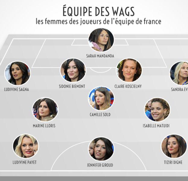 L'équipe des Wags, les femmes des joueurs français !