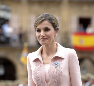 Letizia d'Espagne : sublime en rose, le sans faute que l'on attendait tant