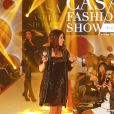 """Jenifer Bartoli au défilé """"Casa Fashion show"""" à Casablanca au Maroc le 2 avril 2016."""