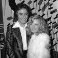 Michel Delpech et Chantal Simon, sa première épouse.