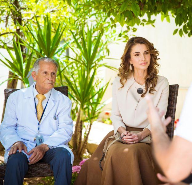 Rania de Jordanie, une femme au coeur sur la main.