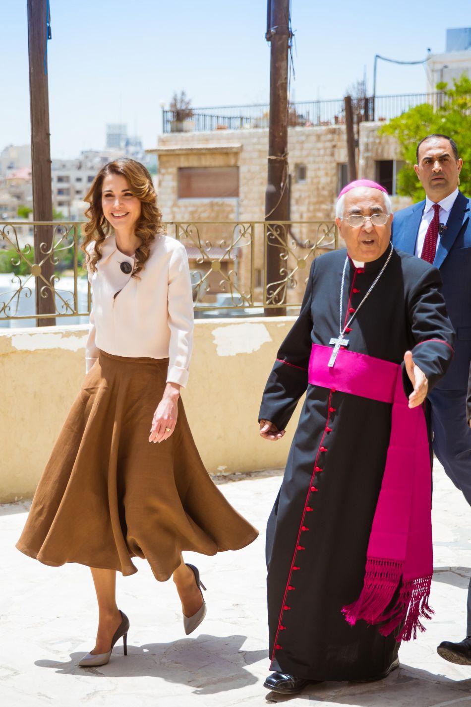 Rania de Jordanie est aussi la reine du style.