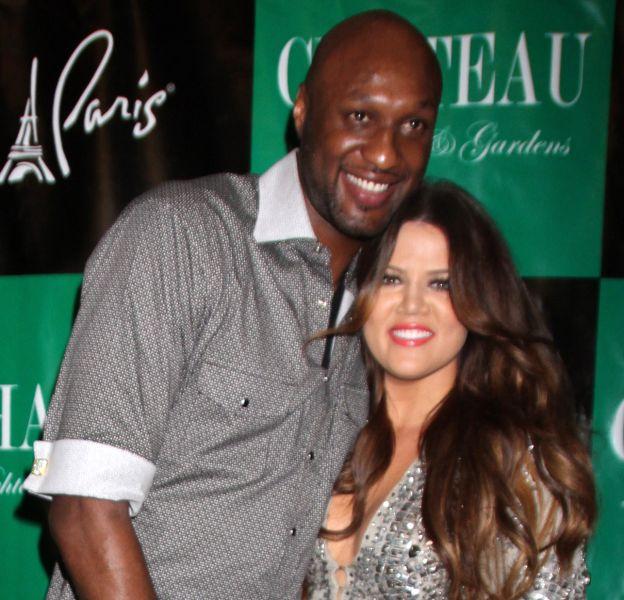 Khloe et Lamar, à l'époque de leur mariage, en 2011.