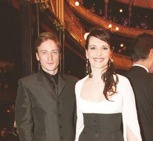 Benoît Magimel et Juliette Binoche, lors de leur histoire d'amour, en 2002.