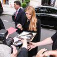 Elle profite de son passage à Paris pour revoir ses fans français.