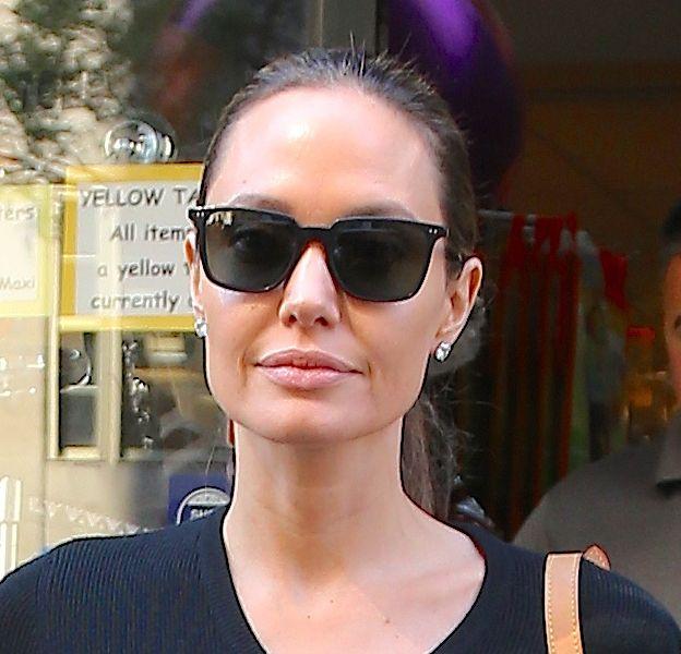 Angelina Jolie toujours plus amincie à New-York samedi 18 juin 2016.