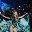 La jeune femme de vingt-et-un ans a défilé pour Victoria's Secret en novembre dernier.