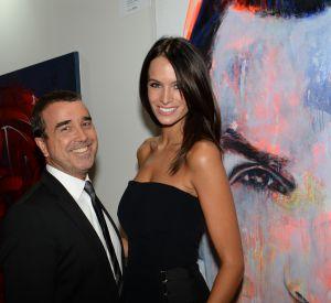 Arnaud Lagardère et sa femme, Jade.