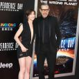 "Charlotte Gainsbourg, Jeff Goldblum à la première de ""Independence day: resurgence"" au théâtre TCL Chinese à Hollywood, Californie, le 20 juin 2016."