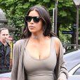 Kim Kardashian a posté une nouvelle photo de son décolleté XXL.