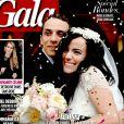 Les premières photos du mariage ont été publiées en exclusivité par  Gala .