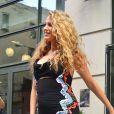 Blake Lively dans les rues de New York le 22 juin 2016.