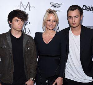 Pamela Anderson est aussi une maman fière de ses fils.