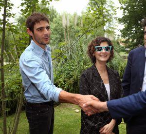 Le beau brun a rencontré Alain Juppé.