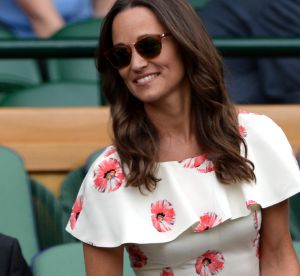 Pippa Middleton : de retour à Wimbledon, éblouissante en petite robe fleurie