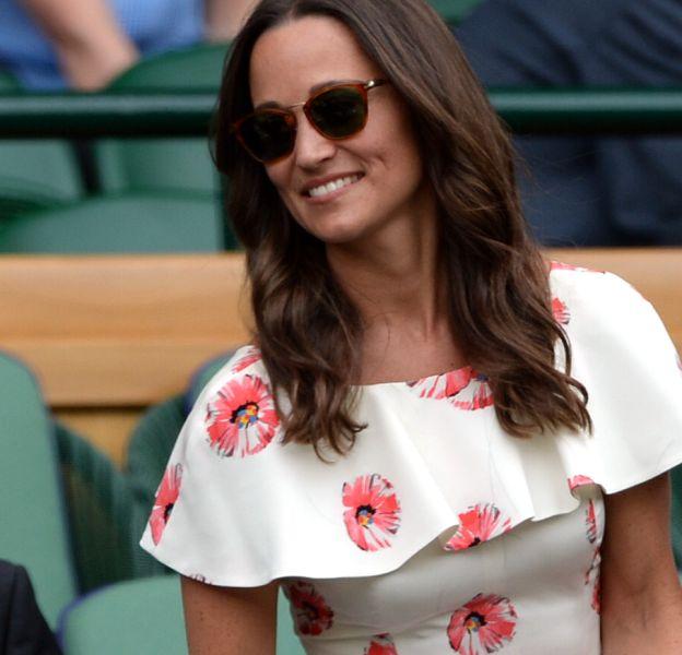 Pippa Middleton a pris soin de choisir une robe Suzannah à 1400 euros, de quoi être la plus belle des tribunes !