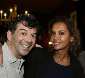 """Stéphane Plaza et Karine Le Marchand, les deux stars de M6. L'animatrice sera de retour avec la 11e saison de l'""""ADP"""" en juillet 2016."""